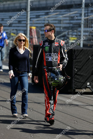 Stock Picture of Kurt Busch, Patricia Driscoll Race driver Kurt Busch walks with girlfriend Patricia Driscoll before the start of practice at the Indianapolis Motor Speedway during the Rookie Orientation Program in Indianapolis, . Busch will try to be the first driver in a decade to compete in IndyCar's Indianapolis 500 and Sprint Cup's Coca-Cola 600 on the same day