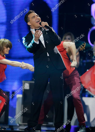 Cristian Castro Singer Cristian Castro performs during the Latin Billboard Awards in Coral Gables, Fla