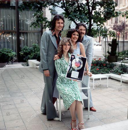 Stock Image of Brotherhood of Man - Martin Lee, Sandra Stevens, Nicky Stevens and Lee Sheridan