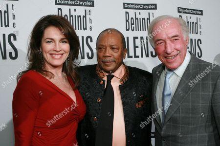 Cynthia Sikes, Quincy Jones and Bud Yorkin
