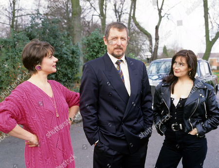 Barbara Flynn, John Nettles and Lynsey Baxter in 'Boon' - 1992