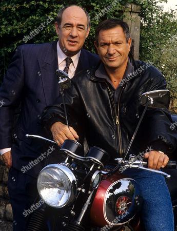 David Daker and Michael Elphick in 'Boon' - 1992