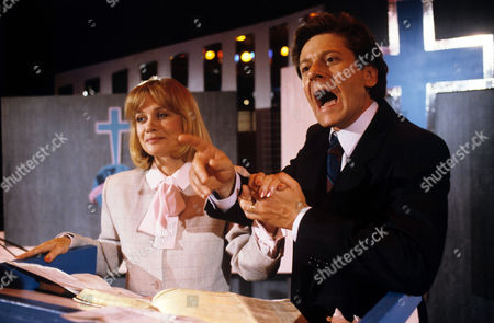 Stock Picture of Judy Geeson and Kristoffer Tabori in 'Boon' - 1988