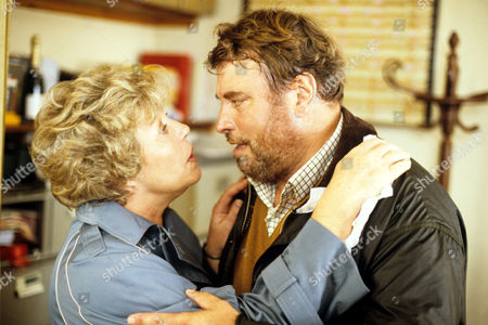 Rosemary Leach and Brian Blessed in 'Boon' - 1988