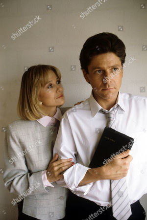 Stock Photo of Judy Geeson and Kristpher Tabori in 'Boon' - 1988