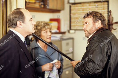 David Daker, Rosemary Leach and Brian Blessed in 'Boon' - 1988