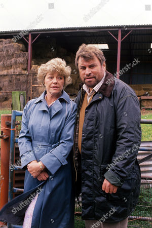 Brian Blessed and Rosemary Leach in 'Boon' - 1988