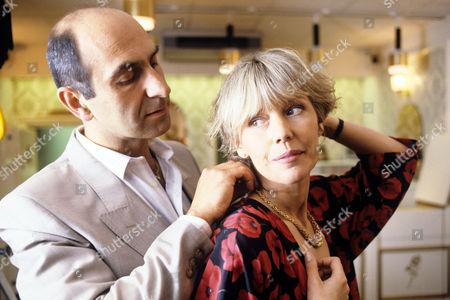 Jeffrey Chiswick and Tessa Wyatt in 'Boon' - 1988