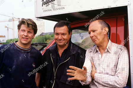 Stock Picture of Lloyd Owen, Michael Elphick and Garfield Morgan in 'Boon' - 1988
