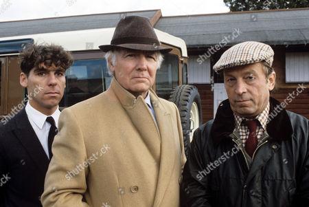 Harry Van Gorkum, Mark Kingston and Ken Farrington in 'Boon' - 1988