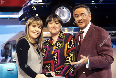Linda Robson, Pauline Quirke and Bob Monkhouse on 'Celebrity Squares' - 1993 - 94