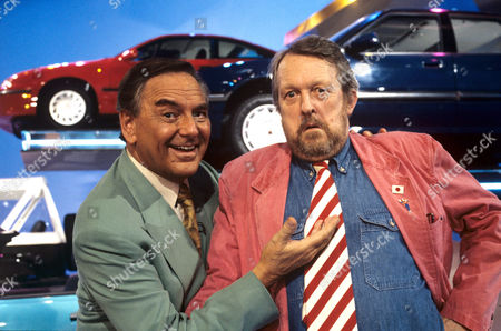 Bob Monkhouse and Willie Rushton on 'Celebrity Squares' - 1993 - 94