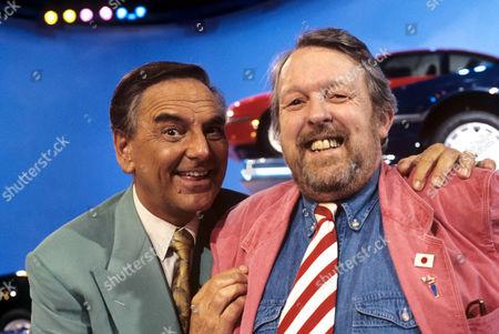 Bob Monkhouse and Willie Rushton on 'Celebrity Squares' - 1993 - 94
