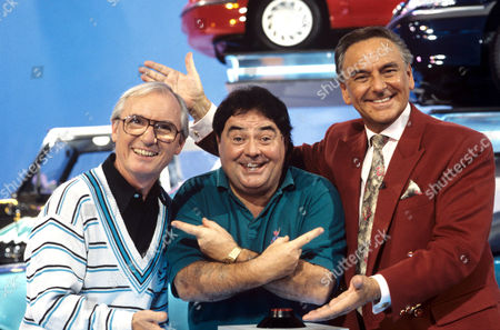 Sid Little, Eddie Large and Bob Monkhouse on 'Celebrity Squares' - 1993 - 94