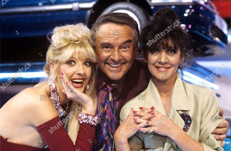 Ellie Laine, Bob Monkhouse and Amanda Barrie on 'Celebrity Squares' - 1993 - 94