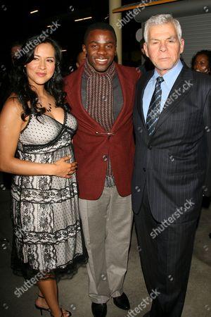 Sophia Luke, Derek Luke and Ed Limato