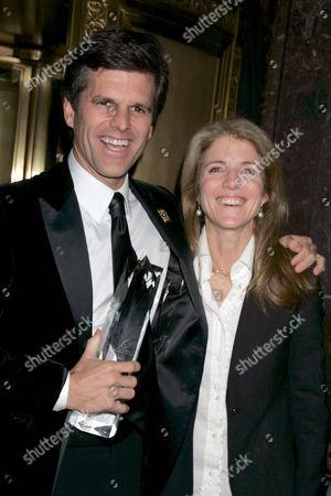 Timothy Shriver and Caroline Kennedy
