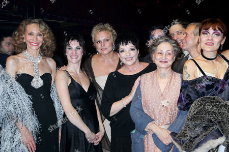 Stock Photo of Marisa Berenson, Liza Minnelli, Claire Perot, Muriel Robin and Catherine Arditi