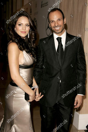 Stock Picture of Katharine McPhee and boyfriend Nick Cokas