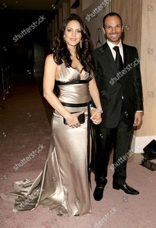 Stock Image of Katharine McPhee and boyfriend Nick Cokas