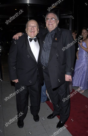 Roy Barraclough and Bill Tarmey arrive at the Angel Ball 2006 in aid of the Kirsty Howard Appeal