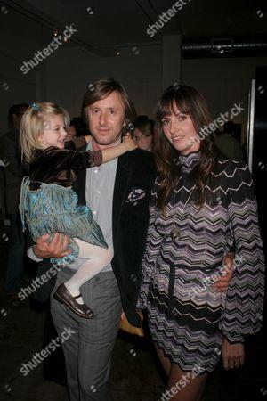 Madison Carabello with Jake Weber and Liz Carey