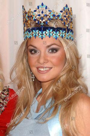 Miss World Tatana Kucharova