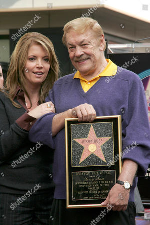 Jeanie Buss and Jerry Buss