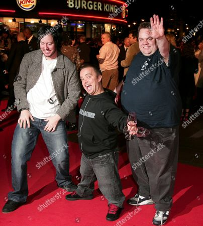 Dave England, Jason 'Wee Man' Acuna and Preston Lacy