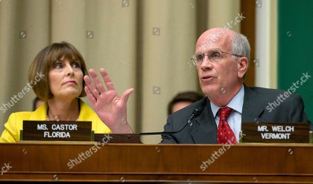 Peter Welch, Kathy Castor House Oversight and Investigation subcommittee member Rep. Peter Welch, D-Vt., right, accompanied by fellow subcommittee member, Rep. Kathy Castor, D-Fla., question General Motors CEO Mary Barra on Capitol Hill in Washington, as she testified before the subcommittee . The subcommittee is looking for answers from Barra about safety defects and mishandled recall of 2.6 million small cars with a faulty ignition switch that's been linked to 13 deaths and dozen of crashes