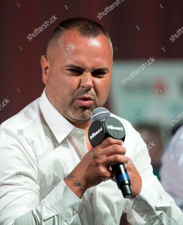 Juan Magan Juan Magan speaks at a Billboard Latin Music Conference panel discussion in Miami