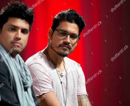 Elvis Crespo, Guianko Gomez, Juan Magan, Oscarcito, Julca Brothers The Julca Brothers, Dav, left, and Johnny appear at a Billboard Latin Music Conference panel discussion in Miami