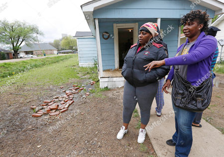 Debra Taylor, Jennifer Taylor Debra Taylor, right, and Jennifer Taylor, stand outside the disappearance site in Yazoo City, Miss., and talk about the efforts made to rescue their relative, a 9-year-old girl who authorities say is believed to have been swept away by flash flood waters on Sunday. Yazoo County Director of Emergency Management Joey Ward said emergency crews, a dive team and volunteers searched rain-swollen drainage ditches until about midnight and resumed Monday