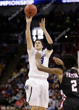 Editorial photo of NCAA Louisiana Lafayette Creighton Basketball, San Antonio, USA