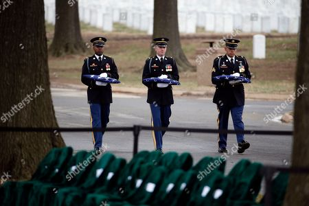 Editorial photo of Arlington Burial Vietnam, Arlington, USA