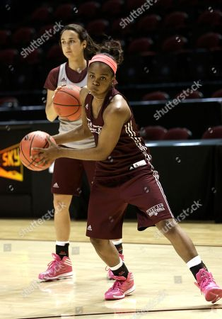 Jordan Jones, Cristina Sanchez Quintanar Texas A&M's Jordan Jones, right, and Cristina Sanchez-Quintanar run a drill during practice, for a first-round NCAA women's basketball tournament game in College Station, Texas. They will face North Dakota Sunday evening