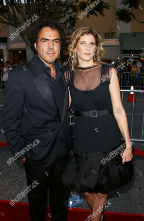 Alejandro Gonzales Inarritu and wife Maria