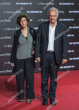 Walter Veltroni with his wife Flavia Prisco