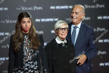 Anna Fendi Venturini and Giuseppe Tedesco,