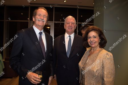 Duarte Pio de Braganza, Crown Prince Alexander of Serbia and Crown Princess Katherine