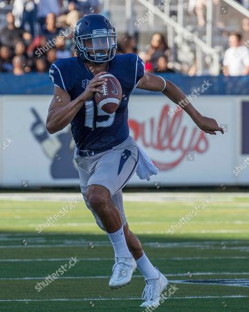 Tyler Stewart Nevada quarterback Tyler Stewart scrambles out of the pocket against Fresno State in the first quarter of an NCAA college football game in Reno, Nev., on