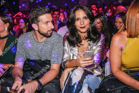 Daniel Poças and Olivia Ortiz