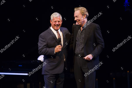 Cameron Mackintosh (Producer) and Sir Andrew Lloyd Webber (Music) during the curtain call