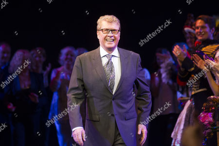 Michael Crawford during the curtain call