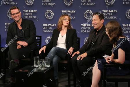 Peter Hermann, Dottie Zicklin (Writer, Exec. Producer), Darren Star, Cynthia Littleton