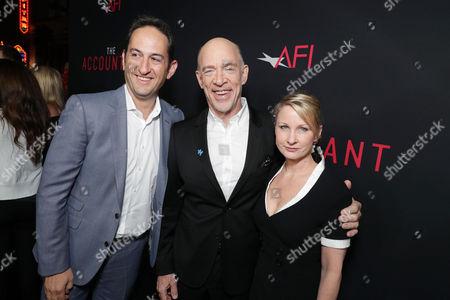 Greg Silverman, JK Simmons, Michelle Schumacher