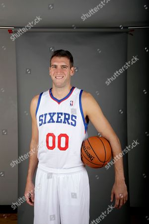Spencer Hawes Philadelphia 76ers' Spencer Hawes poses for a photograph during media day at the team's practice facility, in Philadelphia