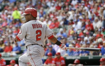 Editorial photo of Angels Rangers Baseball, Arlington, USA