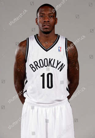 Tyshawn Taylor Tyshawn Taylor poses for photos during the Brooklyn Nets media day, at the Barclay's Center, in New York