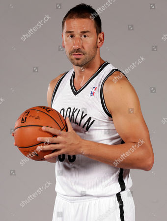 Marko Jaric Marko Jaric poses for photos during the Brooklyn Nets media day, at the Barclay's Center, in New York